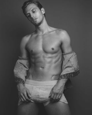 New face male model Adam from United States