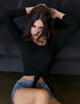 New face female model Caroline from Russia