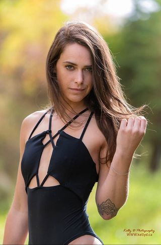 New Face weiblich Model Taylor from Kanada