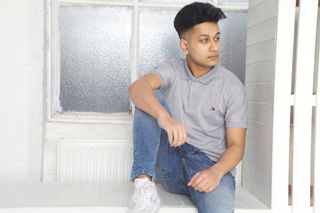 New face male model Safiur from United Kingdom