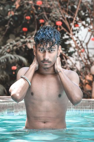New face male model Uday from India