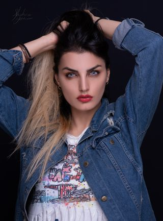 New face femme Mannequin Negin from Turquie