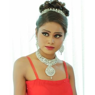 New face femme Mannequin Sahana from Inde