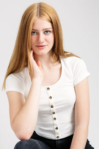 New face female model Christiana from Switzerland