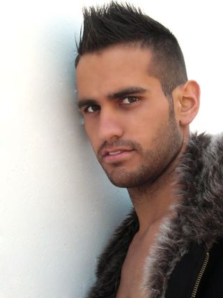 New face male model Jose from Spain
