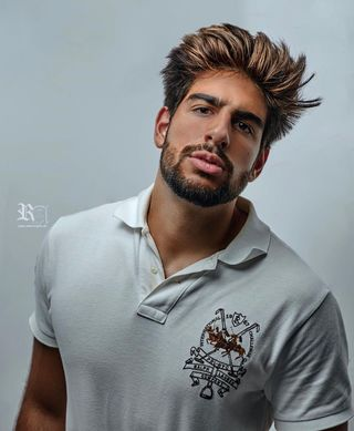 New face male model Franck from Switzerland