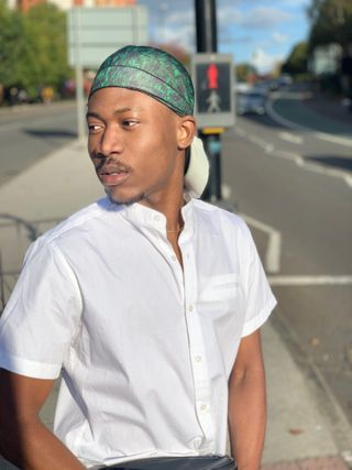 New face Male model Seyi from United Kingdom