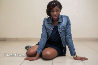 New face female model Ms from Nigeria