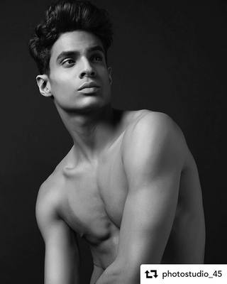 New face male model YunierYaar from Spain