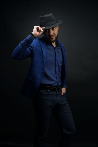 New face male model Abdallah from Algeria