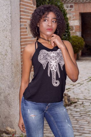New face female model Sandra from Spain