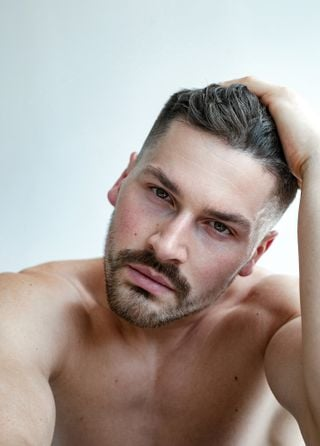 New face male model Michal from Poland