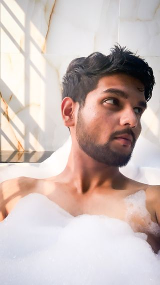 New face male model Siddharth from India