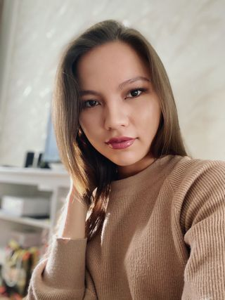 New face female model Assem from Kazakhstan