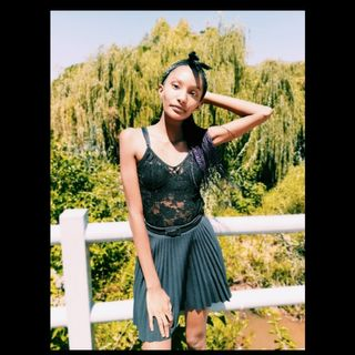 New face female model Bella from South Africa