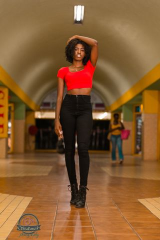 New face female model Thia from Jamaica