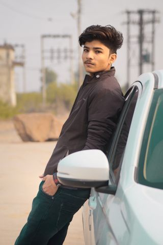 New face male model Aaditya from India