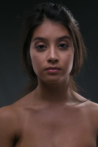 New face female model Karina from France