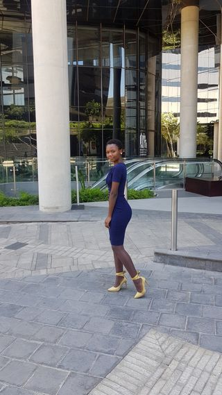 New Face weiblich Model Thando from Südafrika