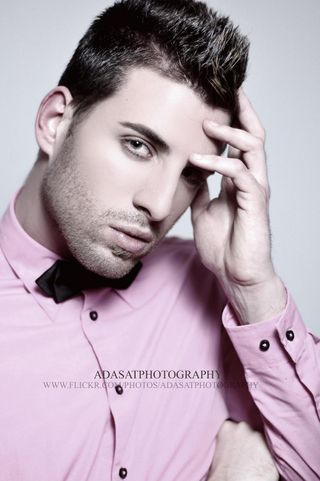 New face male model Jonathan from Spain