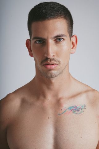 New face male model Omar from Mexico
