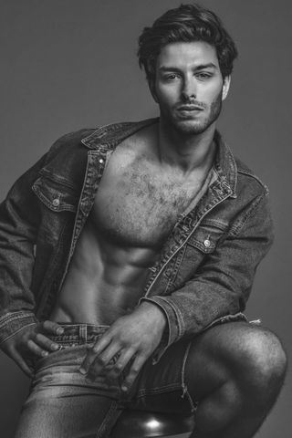New face homme Mannequin Luis from Chili