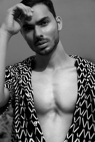 New face male model Ofir from Israel