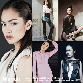 New face female model Mariah from Malaysia