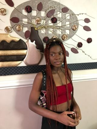 New face femme Mannequin Angelica from Nigeria