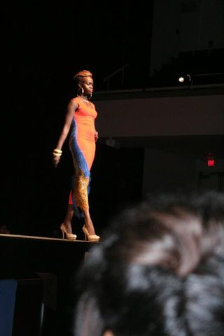 SU Fashion Show !: Did great at my first fashion show !