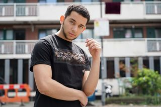 New face male model Aadam from United Kingdom