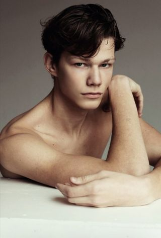 New face male model Lukas from Lithuania
