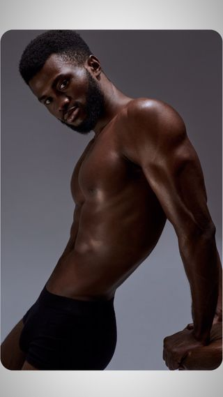 Modelo Profesional hombre modelo Chinedu from Rusia