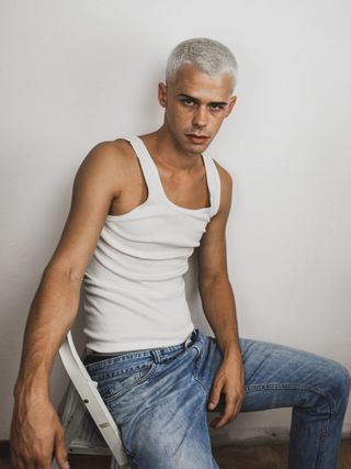 New face male model Luca from Italy