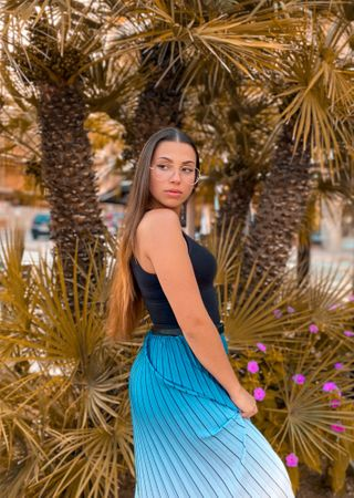 New face female model Aroa from Spain