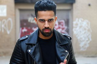 New face male model Satbir from Canada