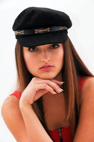 New face female model Olena from Italy