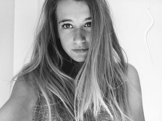 New face femme Mannequin Claudia from Espagne