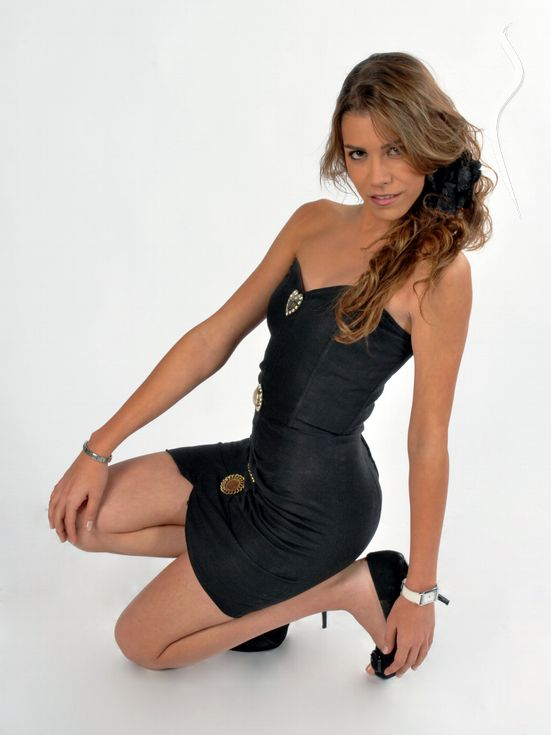 New face female model Claudia from Spain