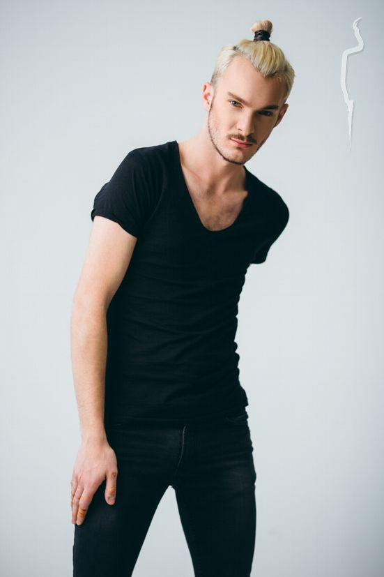 New face male model Andrei from Romania