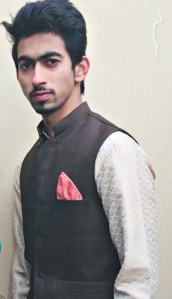 New face maschile modello Abdul from Pakistan