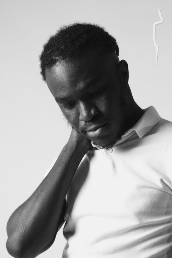 New face homme Mannequin Adeoluwa from Royaume-Uni