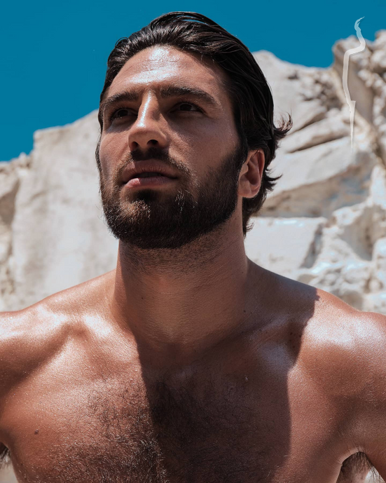 New face male model Alvise from Italy