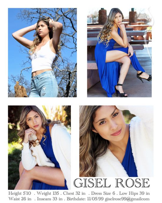 New face female model Gisel from United States