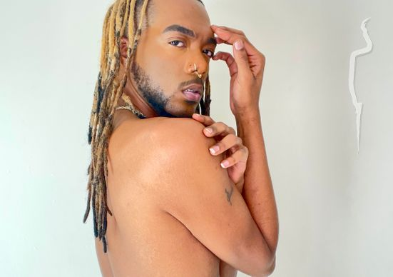 Professional model male model Dionte from United States