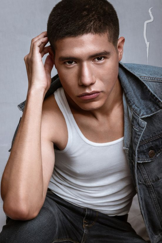 New face male model Edgar from Mexico
