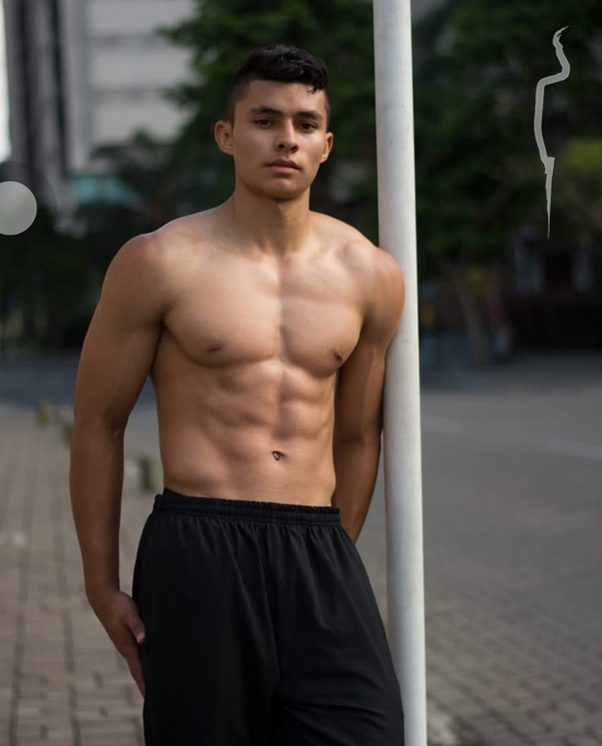 New face male model Felipe from Colombia