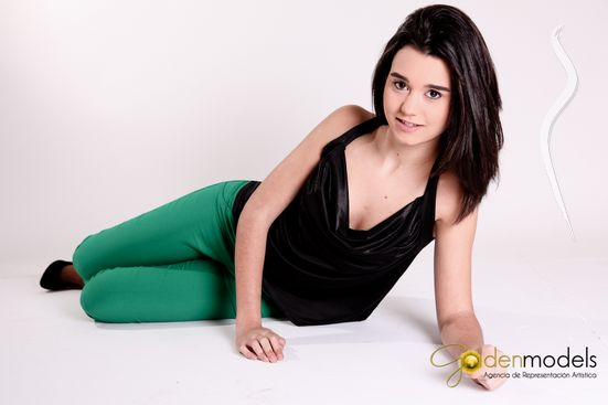 New face female model Júlia from Spain