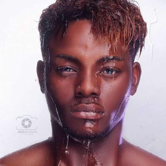 Professional model male model Jeraldine from Nigeria