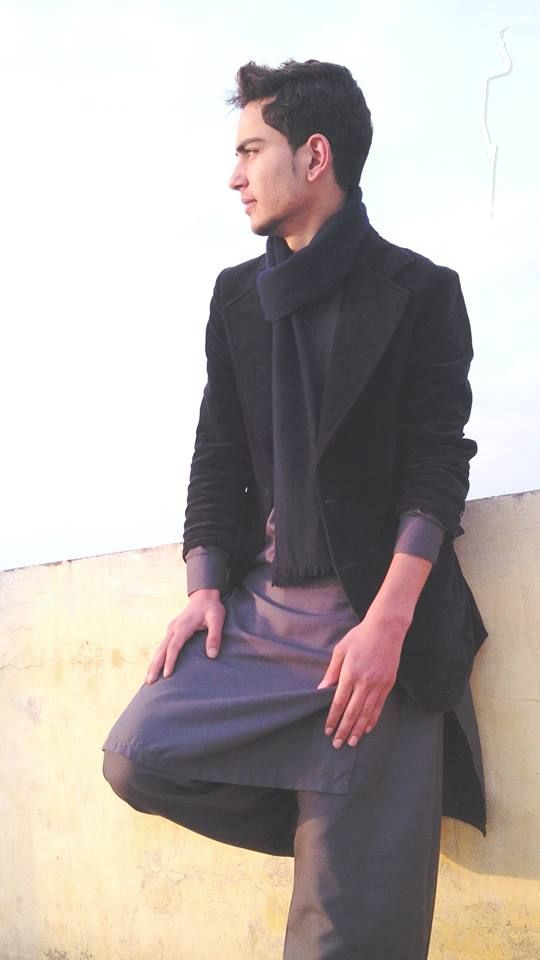 New face Male model Ossama from Pakistan
